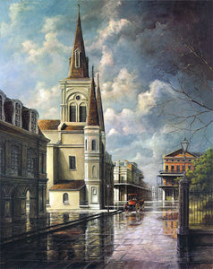 """St. Louis Cathedral"" Giclee"