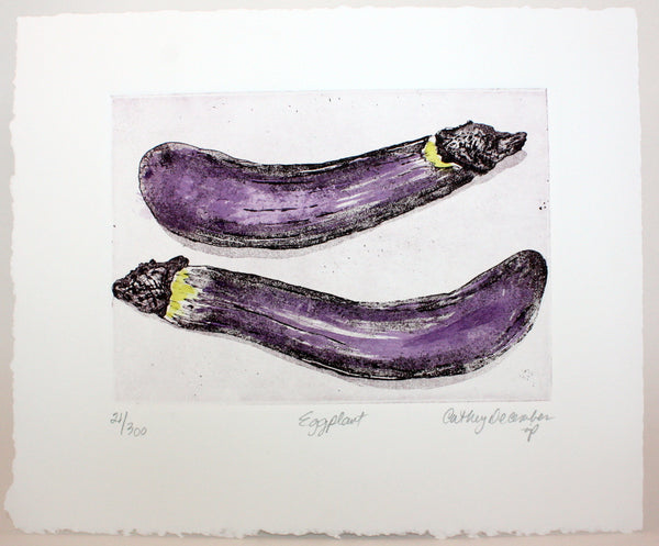 """Eggplant"" by Cathey December"