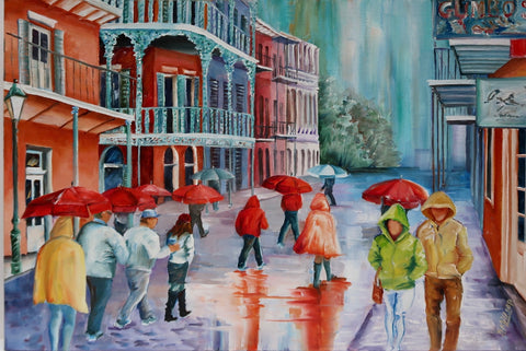 """Rain In New Orleans"" by Diane Millsap"
