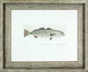 """Speckled Trout"" by Cathey December"