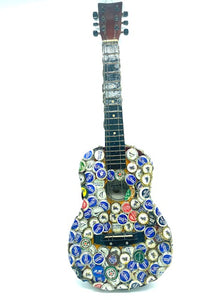 """Beer Cap Guitar"" by Charles Gillam"