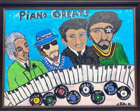 """Piano Greats"" by Charles Gillam"