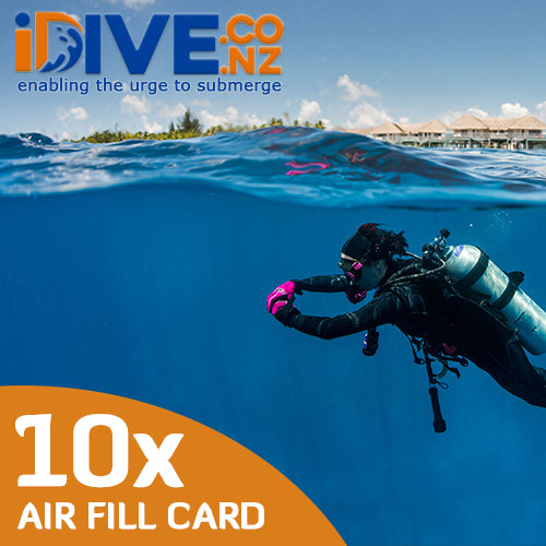 Auckland Scuba 10x Digital Air Fill Concession Card