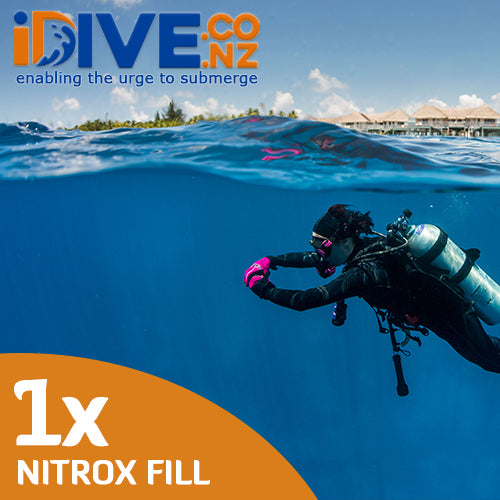 Auckland Scuba 1x Digital Nitrox Fill Credit