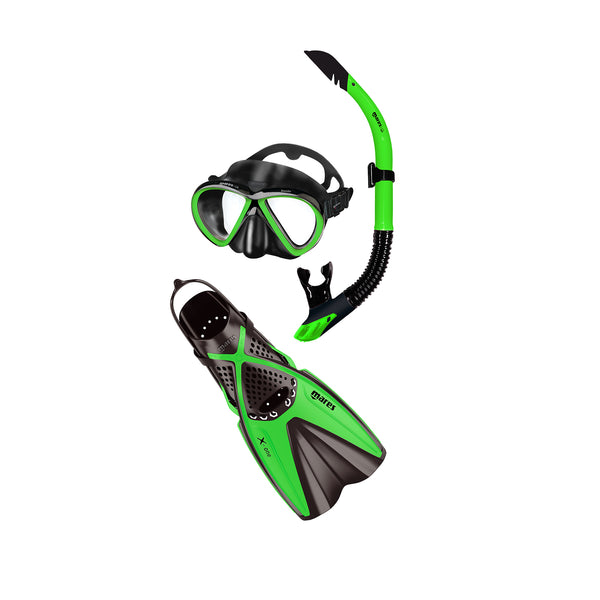 Mares X-One & Bonito Adult Mask, Snorkel and Fins Set