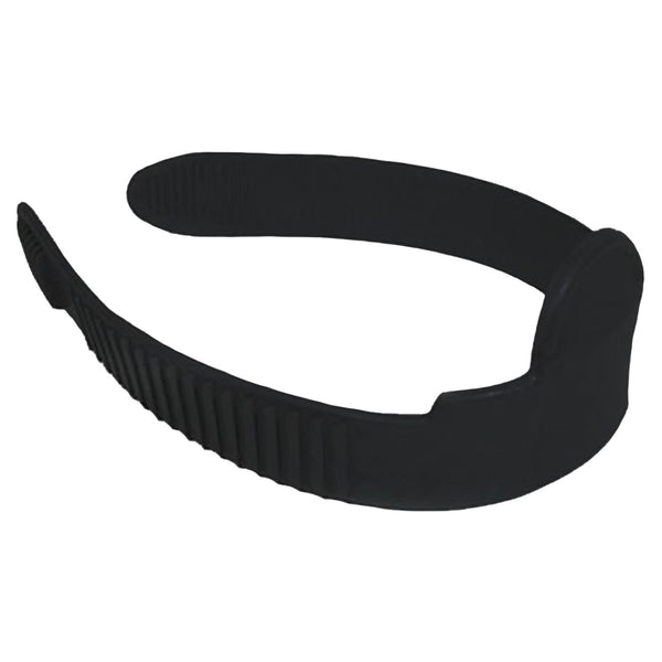 Atlantis Fin Strap Without Buckle (Black)