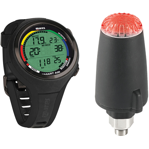 Mares Smart Air Wrist Computer with LED Transmitter