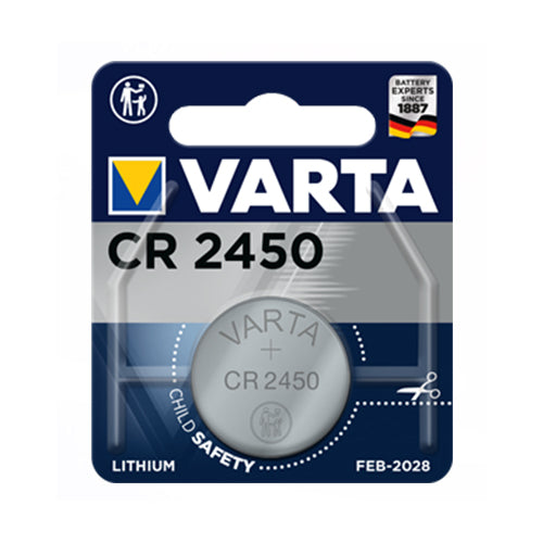 Varta CR2450 3V Lithium Battery