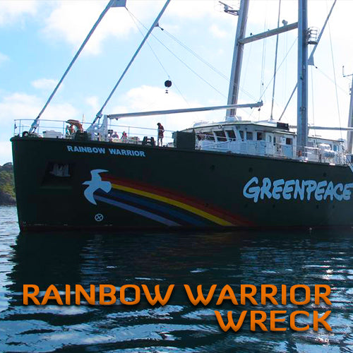 Rainbow Warrior Wreck Dive Trip (2 Dive Trip)