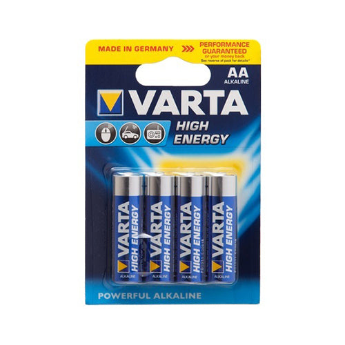 Varta AA Four Pack Alkaline Batteries