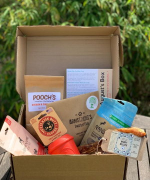 Collar Club Natural Subscription box for dogs