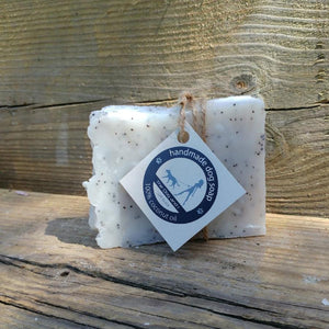 The Dog & I Soap with Lavender Essential Oil and Poppy Seeds