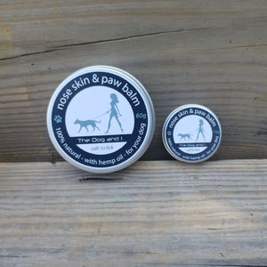 The Dog & I Natural Dog Balm for Nose, Paws & Elbows