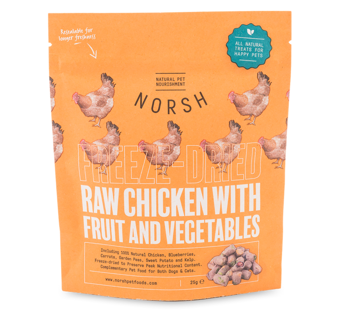 Norsh Freeze-dried Raw Chicken Treats