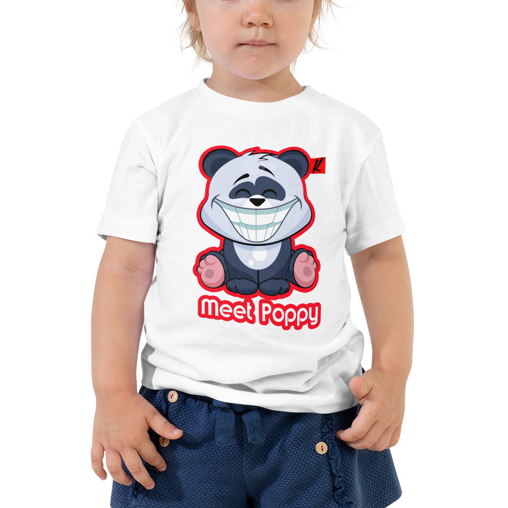 Meet Poppy Toddler Short Sleeve Tee