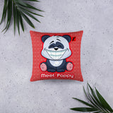 Meet Poppy Throw Pillow