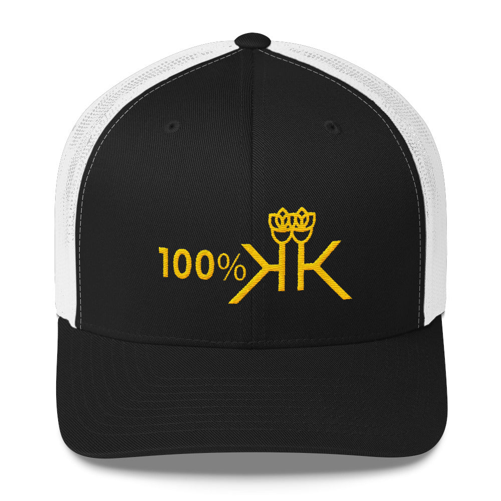100 Percent Royal K Trucker Cap