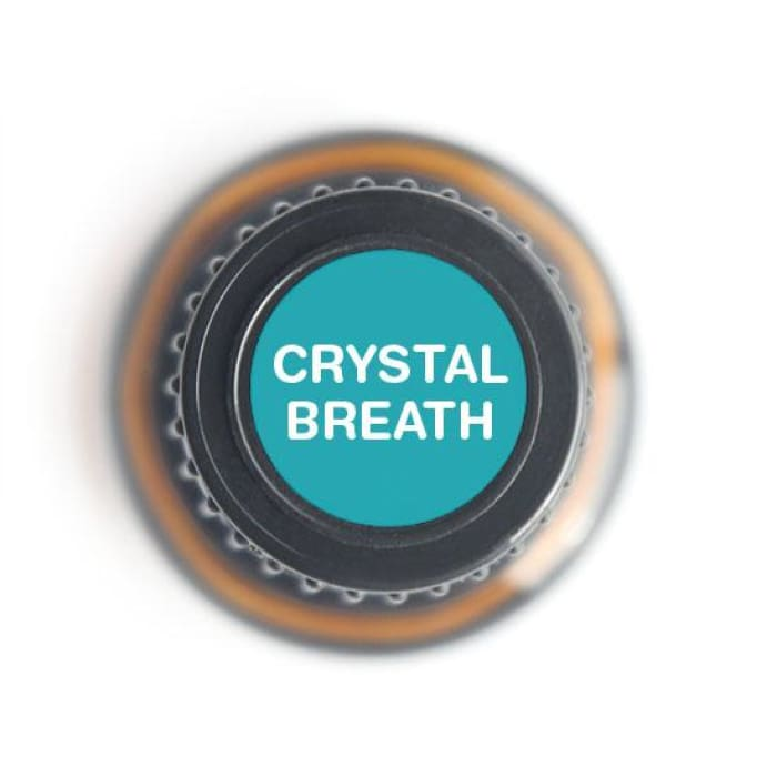 Crystal Breath Blend Pure Essential Oil - 15ml - Essential Oil Bottle