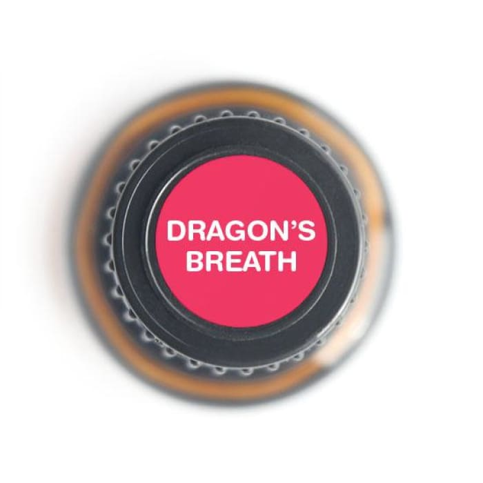 Dragon's Breath: Protective/Immunity Blend Pure Essential Oil - 15ml - Essential Oil Bottle