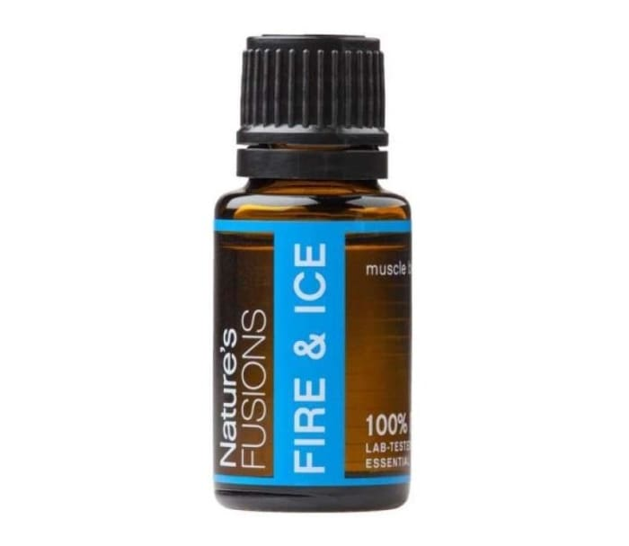 Fire & Ice Pain Relief Blend - 15ml - Essential Oil Bottle