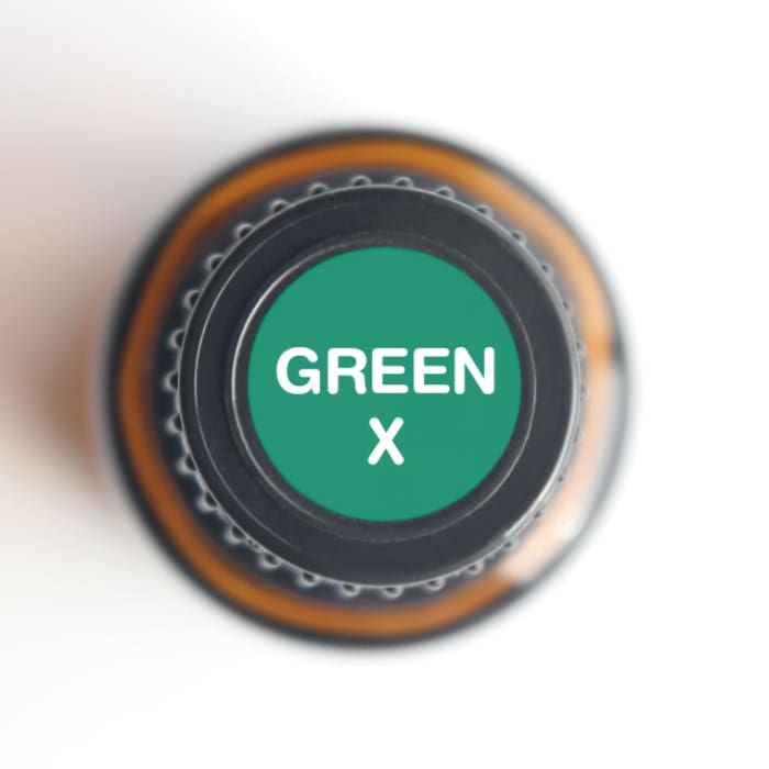 Green-X Oral Health 15-ml Essential Oil - Essential Oil Bottle