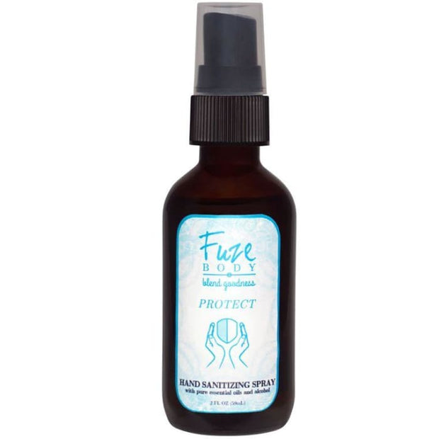 Hand Sanitizer with alcohol and essential oils - Protect 1