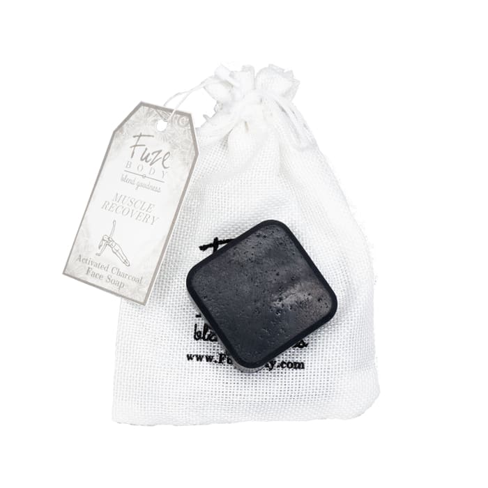 Muscle Recovery Activated Charcoal Facial Soap