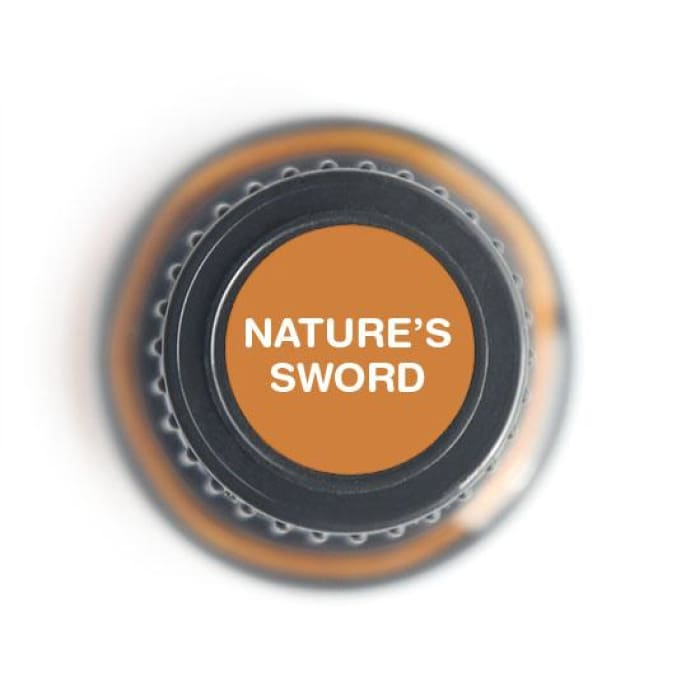Nature's Sword Protective/Immunity Blend Pure Essential Oil - 15ml - Essential Oil Bottle