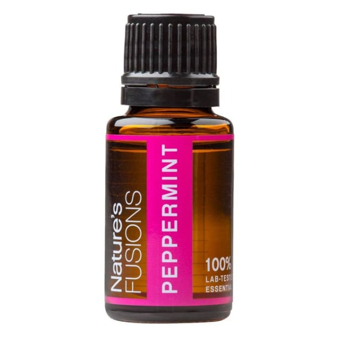 Peppermint Pure Essential Oil - 15ml - Essential Oil Bottle