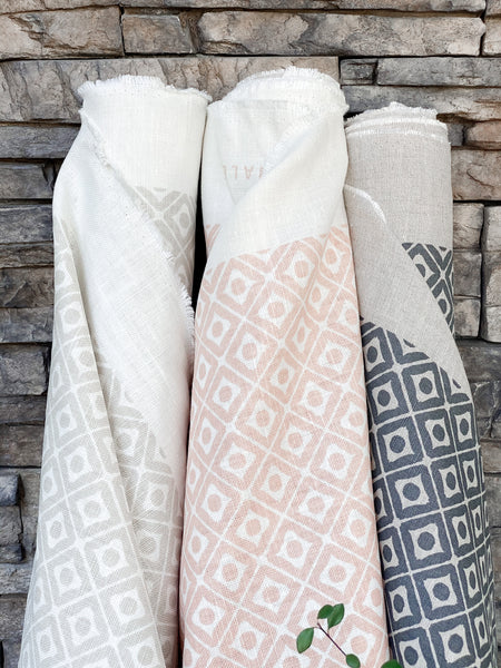 greige textiles hale hand printed textiles in california to the interior design trade