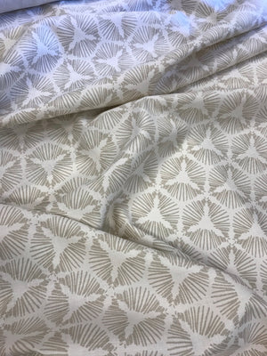 Cie Fabric Heron on Oyster