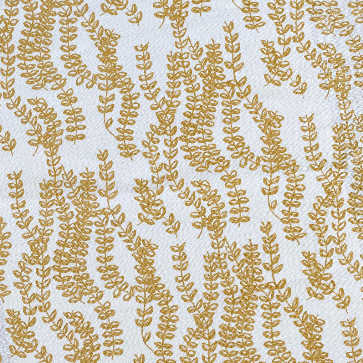 Antoinette Fabric Wheat on Oyster