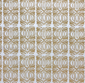 Holiday Fabric Wheat on Oyster