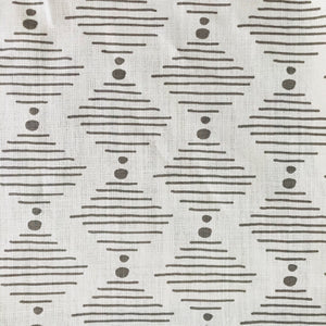 Hinkley Fabric Dove on Oyster greige textiles