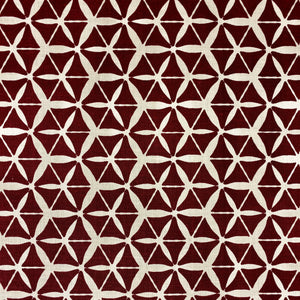 Tuile Fabric Ruby on Oyster
