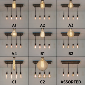 Edison bulb options