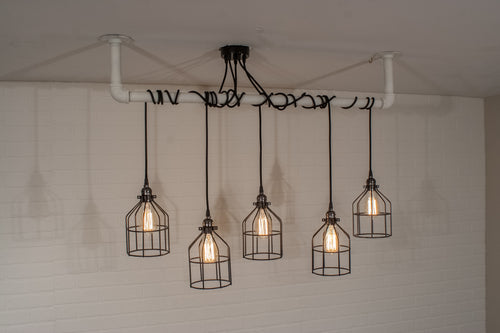 5 Pendant Pipe Light