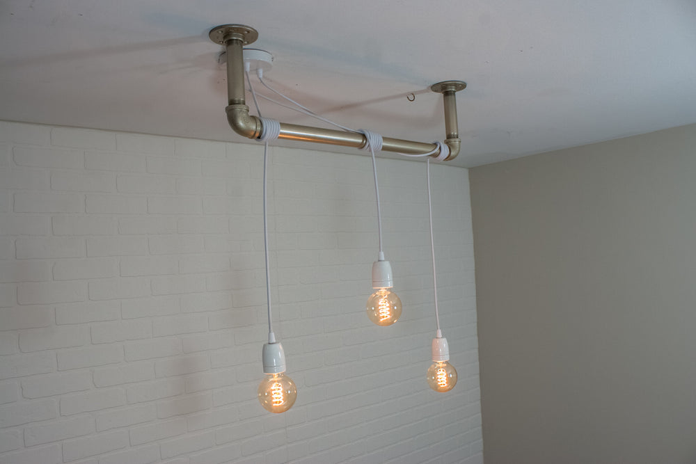 3 Pendant Steam Pipe Light