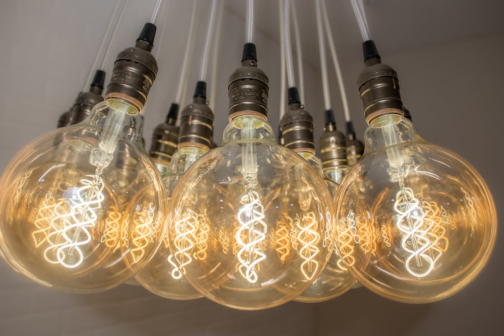 Antique Style Cluster Light