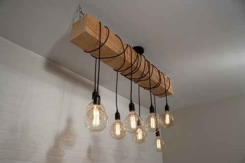 8 Pendant Natural Beam Light