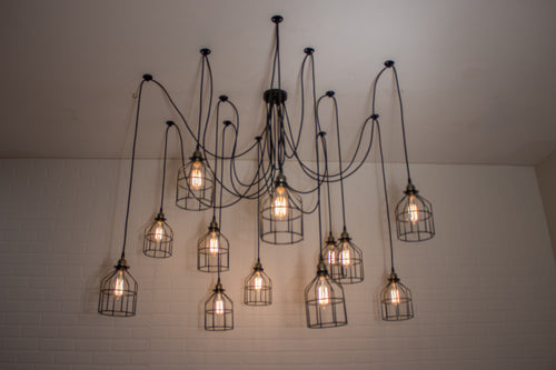 12 Pendant Spider Light