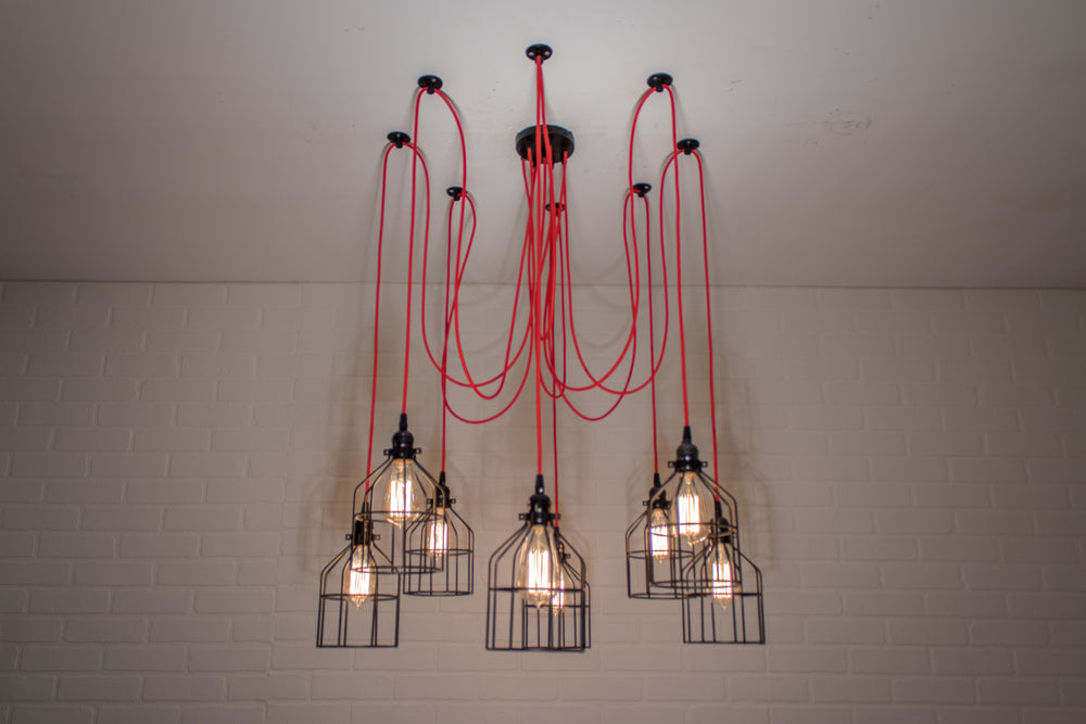 8 Pendant Swag Light