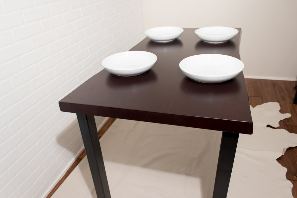 Small Dark Red Table