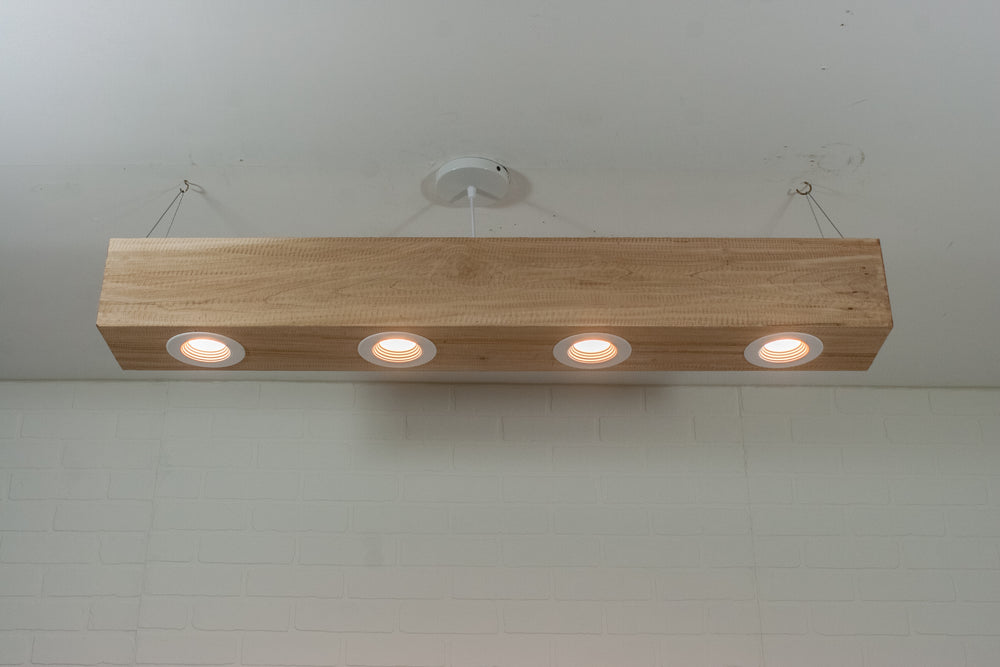 Natural Beam with LED Lighting