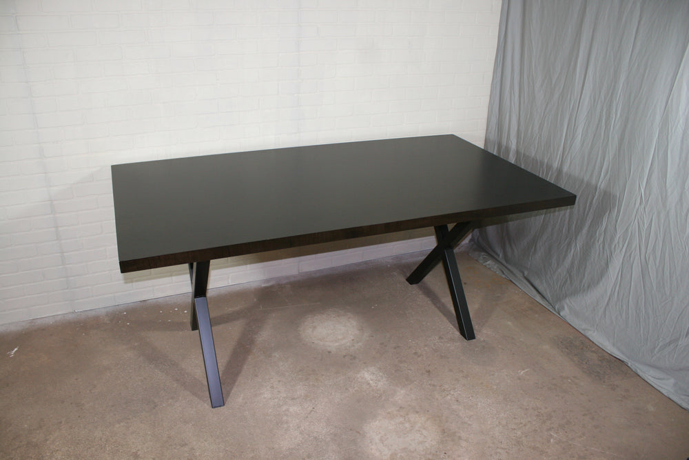 Dark Brown Maple Table