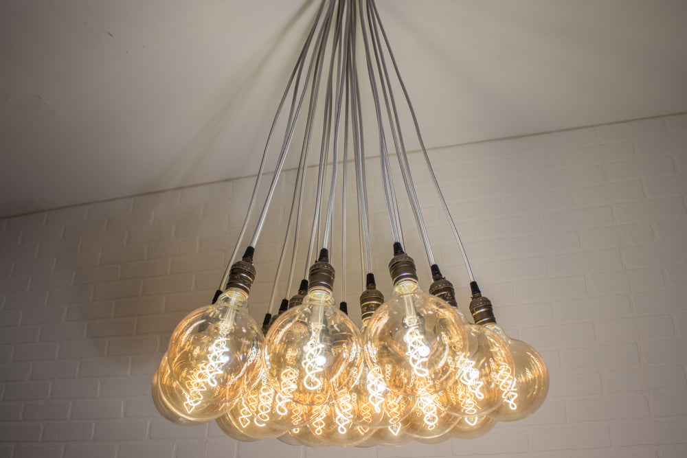 19 Pendant Cluster Light