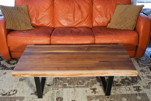Live Edge Walnut Coffee Table