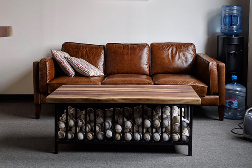 Baseball Collection Coffee Table