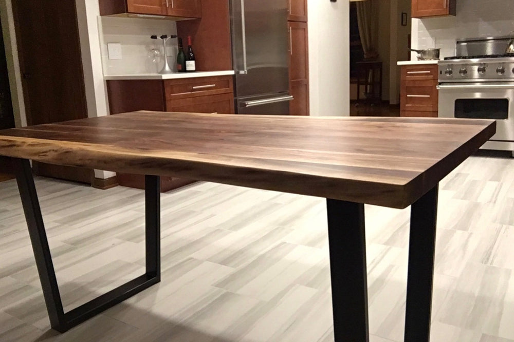 Live Edge Walnut Kitchen Table