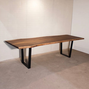 "108"" x 32"" Live Edge Walnut Table for Kathie - Loewen Design Studios"